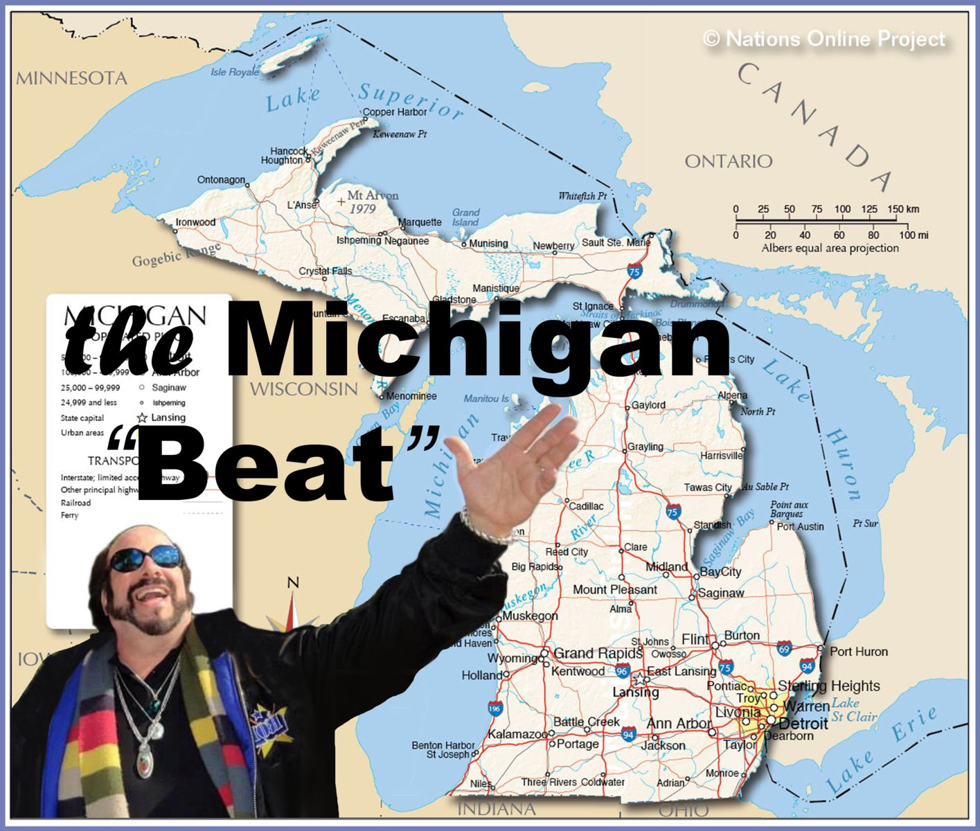The Michigan Story - Rob the Drummer